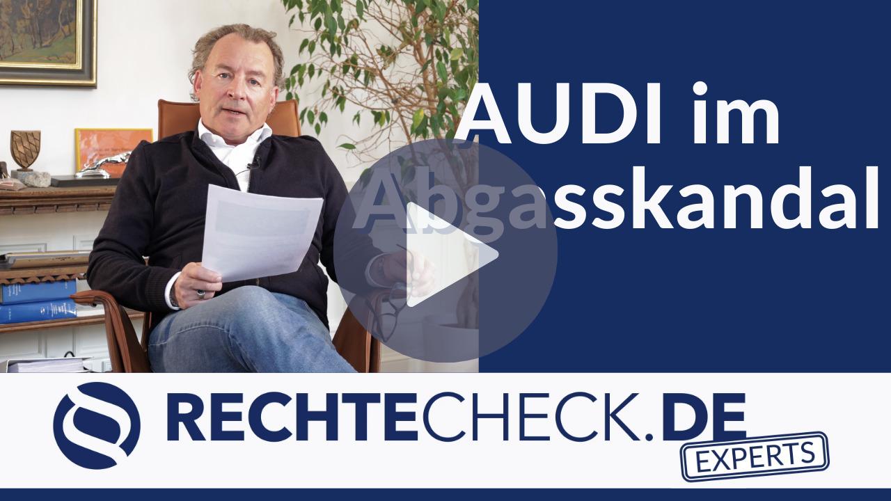 BGH-Urteil zum Audi-Abgasskandal