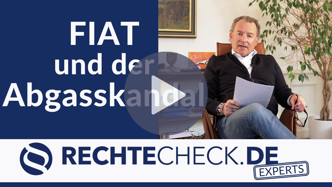 Fiat im Abgasskandal