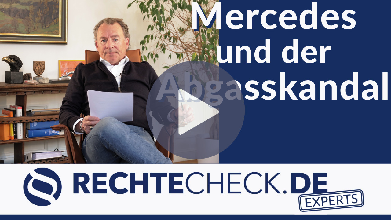 Mercedes im Abgasskandal (Daimler AG)