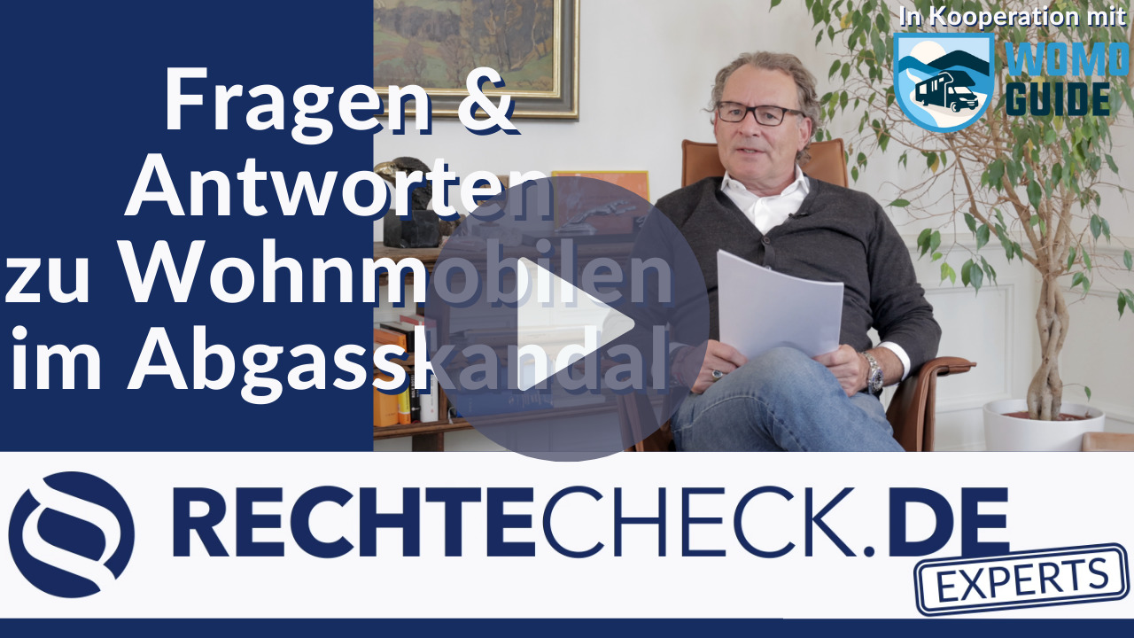 Fragen & Antworten zu Wohnmobilen im Abgasskandal (Kooperation mit WoMoGuide)