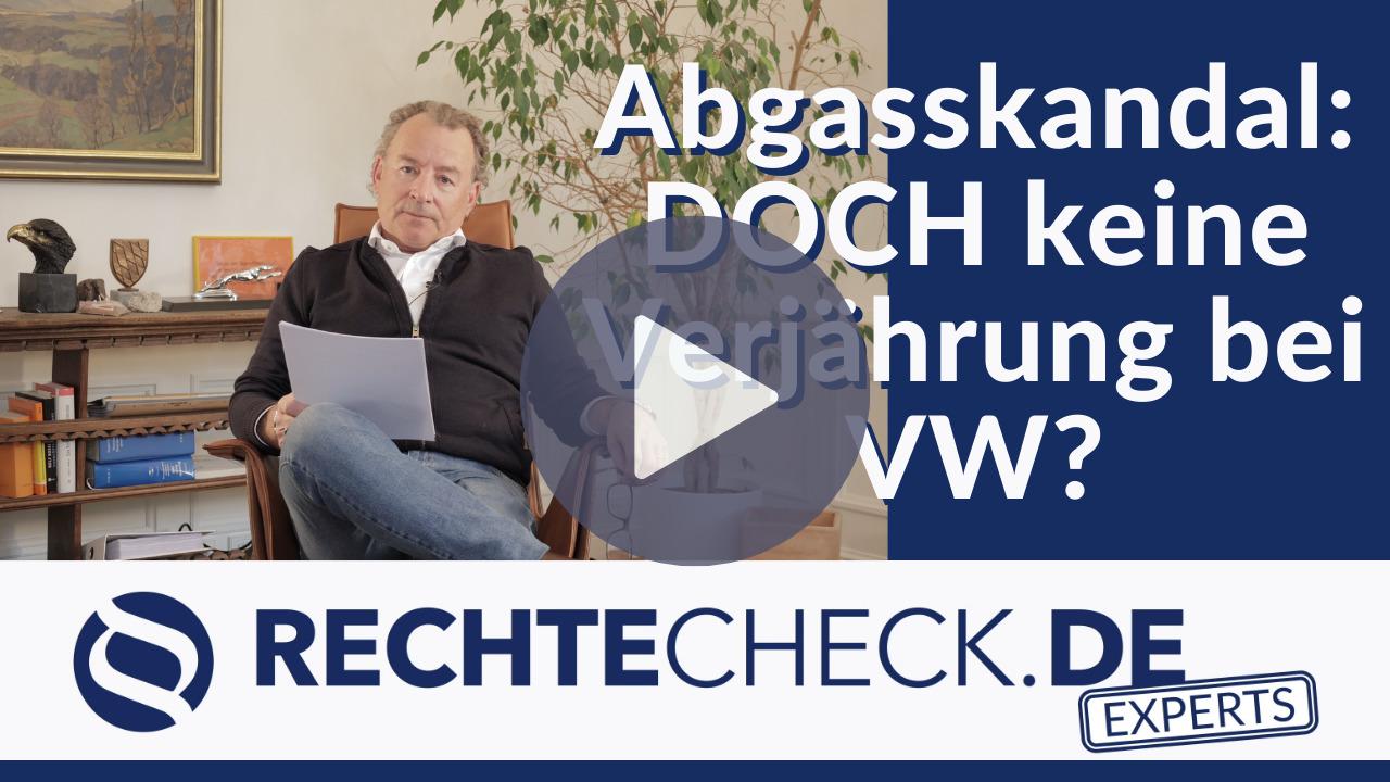 Restschadensersatz im VW-Abgasskandal