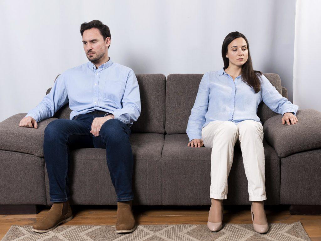 Trennen Sie Ihren Wohnort vor der Scheidung.