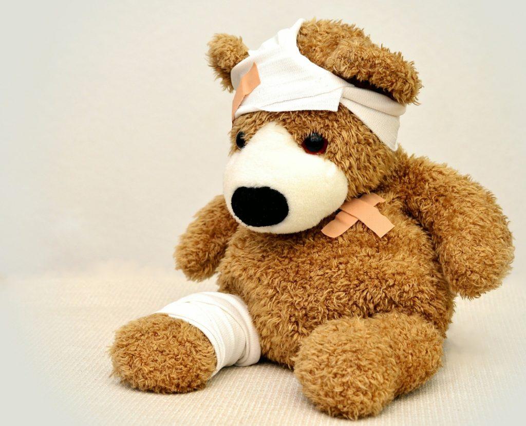 Das Schmerzensgeld nach einem Verkehrsunfall hängt von den Verletzungen ab.